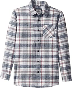 Ravin Long Sleeve Flannel Shirt (Big Kids)