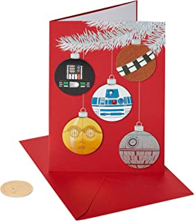 Papyrus Holiday Cards Boxed, Star Wars Ornament (8-Count)