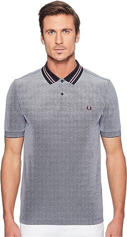 Oxford Bomber Collar Pique Shirt