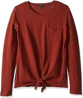 J.Crew Mercantile Women's Long-Sleeve Tie Waist T-Shirt