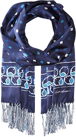 Polo Ralph Lauren - Painted Deco Silk Scarf
