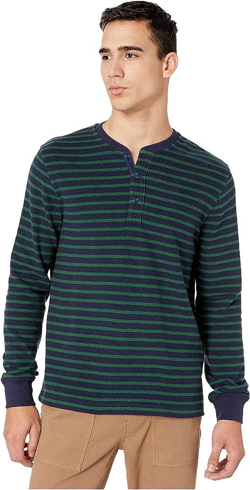 Navy Green Starboard Stripe