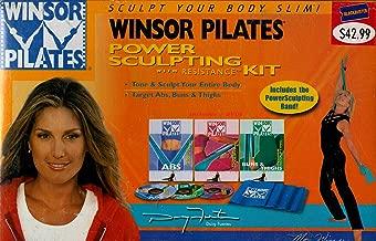 Winsor Pilates : Sculpt Your Body Slim - Winsor Pilates Abs , Winsor Pilates Power Sculpting , Winsor Pilates Buns & Thighs - Resistance Kit - 3 DVD Box Set with Power Sculpt Resistance Band