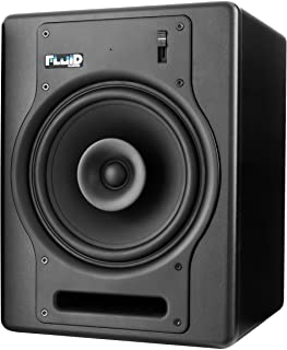 Fluid Audio FX8 8-Inch Coaxial 2-way Studio Reference Monitor, Black