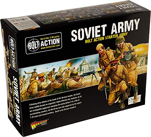 Bolt Action Soviet Army Starter Army - Warlord Games