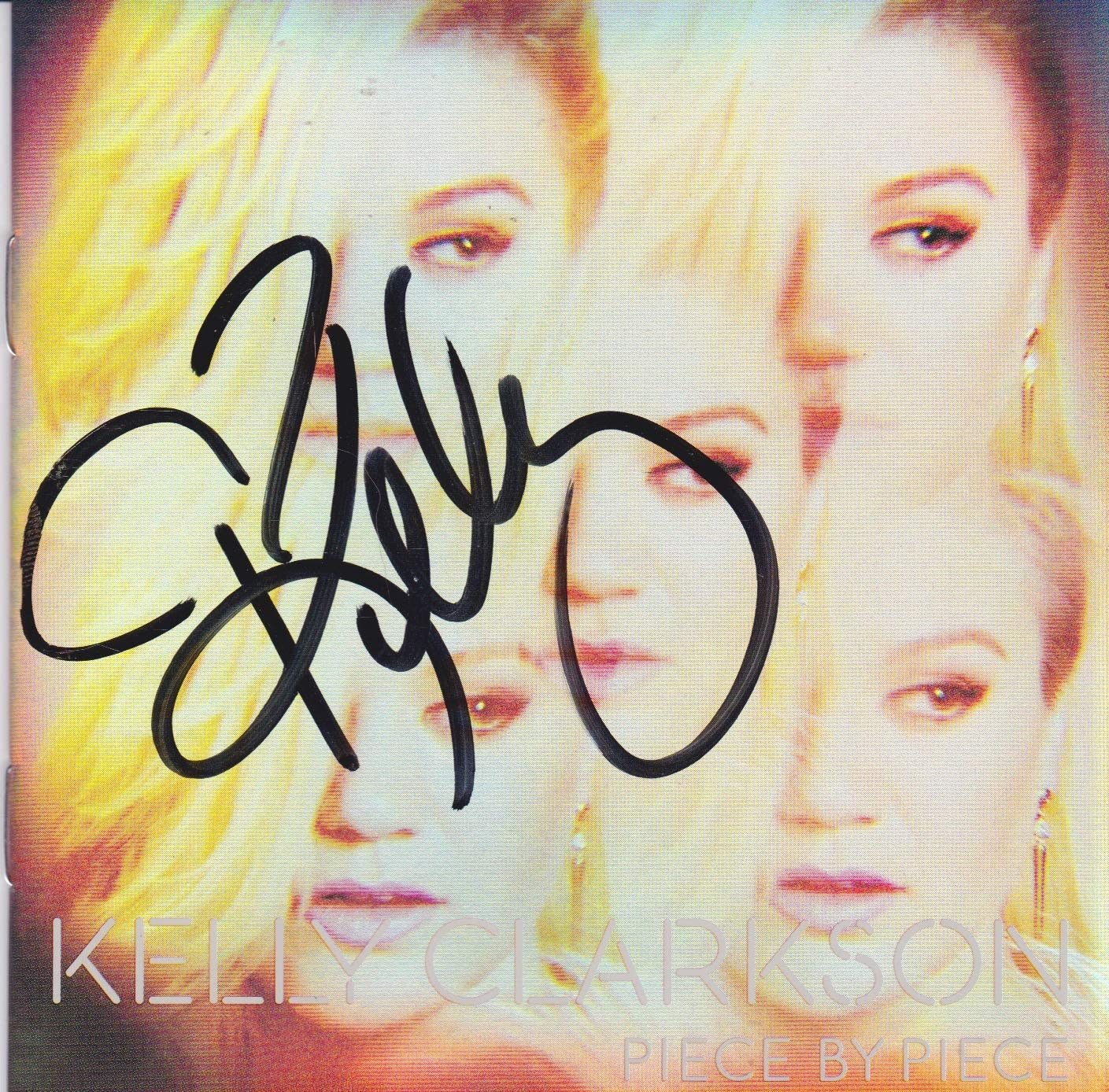 Kelly Clarkson Outlet SALE CD signed low-pricing