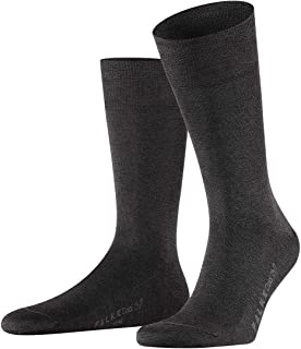 Taille fabricant:39-40 FALKE Lodge Homepad Chaussettes Homme Gris 39//40 Light Grey 3390