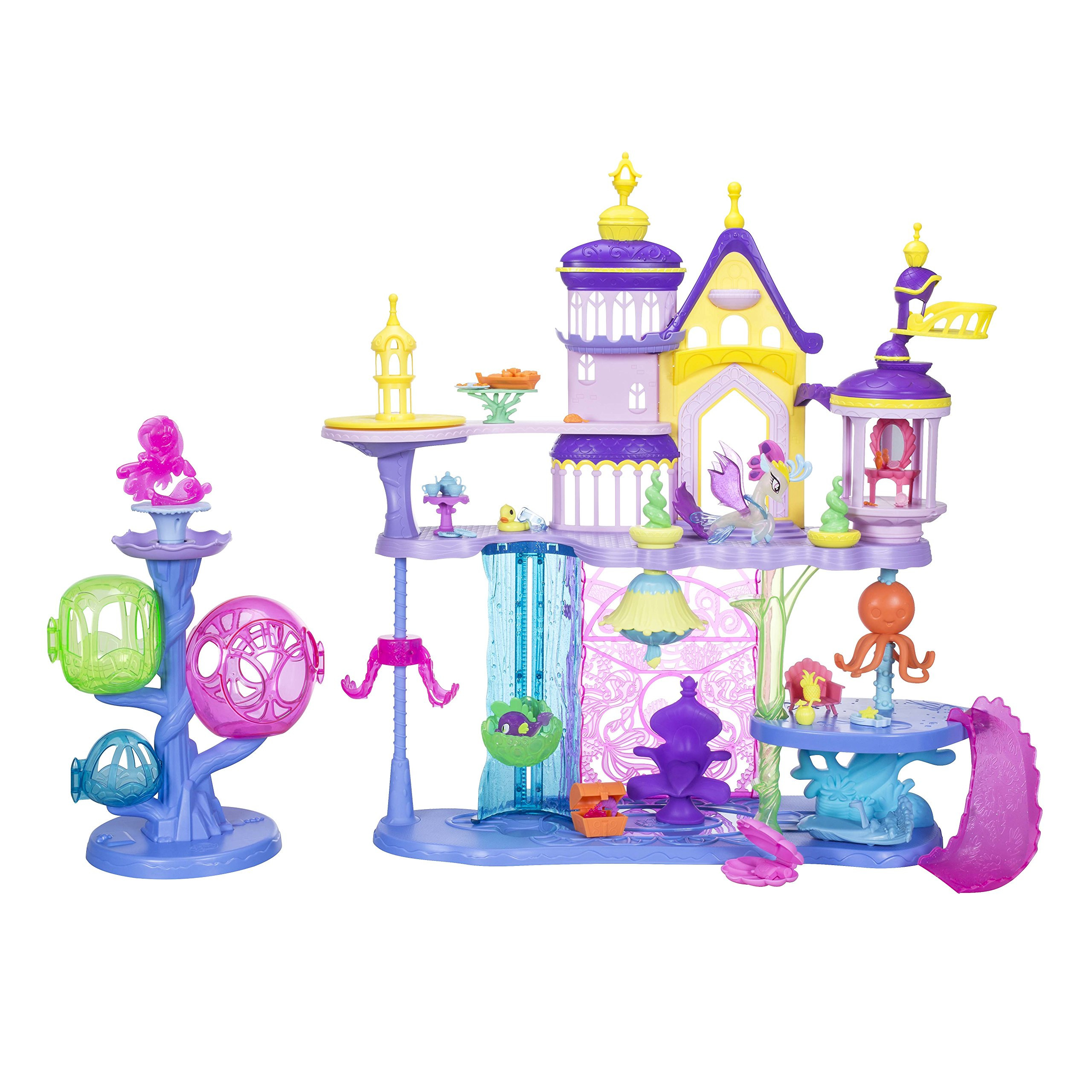 마이 리틀 포니 캔탈롯 씨퀘스트리아 캐슬 My Little Pony: The Movie Canterlot & Seaquestria Castle with Light-Up Tower