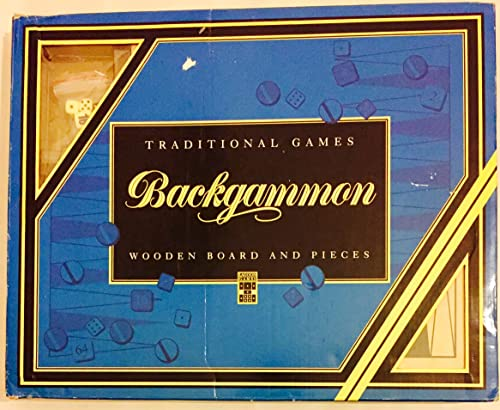 Backgammon - Traditional boisen Board and pieces
