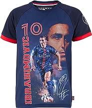 FENGS Zlatan Ibrahimović #10 Herren Fu/ßball Trikot Kurzarm Sport Trikot T-Shirt Fan Shirt Red L