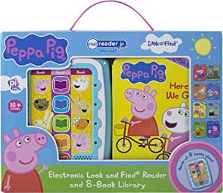 Peppa Pig: Me Reader Jr: Electronic Look and Find Reader and 8-Book Library