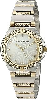 Women's AK/2417MPTT Swarovski Crystal Accented Two-Tone Bracelet Watch
