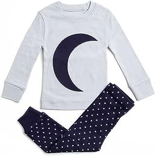 Bluenido 男孩睡衣 月亮星 2 件套 * 超软棉(12 岁-8 岁)