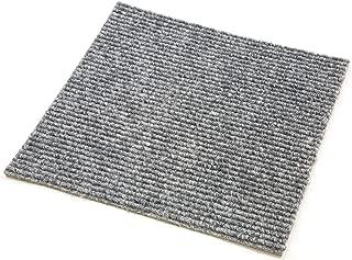 IncStores Berber Carpet Tiles (60 Tiles - 60 Sqft, Smoke)