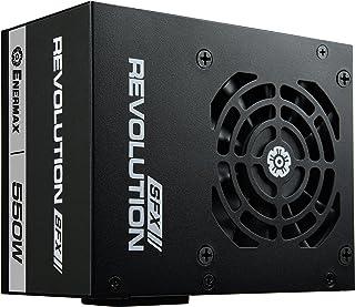 Enermax Revolution SFX 550W SFX Negro - Fuente de alimentación (550 W, 100-240 V, 47-63 Hz, Activo, 90 W, 549,6 W)
