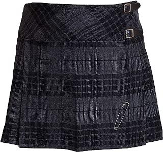 Ladies Tartan Plated Billie Kilt Skirts 16