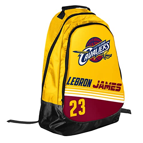 c69d6b40d0db Forever Collectibles Cleveland Cavaliers Team Color Striped Core Backpack - Lebron  James  23