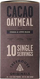 Treehouse Originals Functional Instant Oatmeal | High Protein, Plant-Based, Whole Grain Oats | Healthy, Functional Meal On...