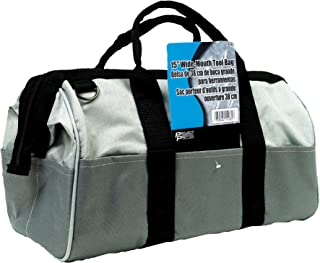 Performance Tool 1939 Performance Tool 15-Inch Wide-Mouth Tool Bag
