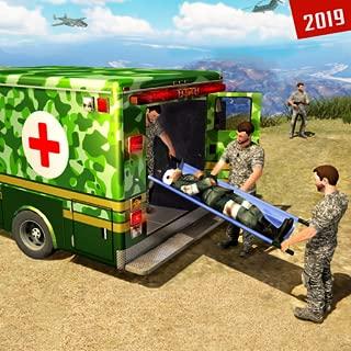 US Army Ambulance Car Driving Simulator