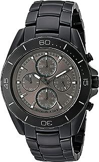 Men's Jetmaster Black IP Chronograph Watch