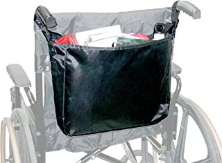LAMINET Medical Accessories (Wheelchair Bag, Black - Nylon)