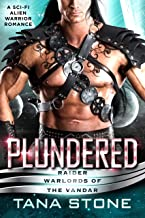 Plundered: A Sc-Fi Alien Warrior Romance (Raider Warlords of the Vandar Book 2) (English Edition)