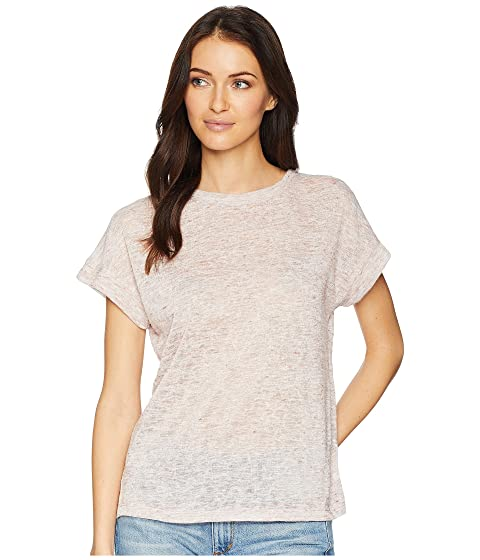 NALLY & MILLIE Short Sleevetop With Pleated Back, Antique Rose