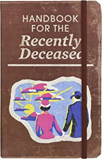 Beetlejuice: Handbook for the Recently Deceased Hardcover Ruled Journal (80`s Classics)