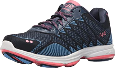 Ryka Women's Dominion Walking Navy/Blue/Coral