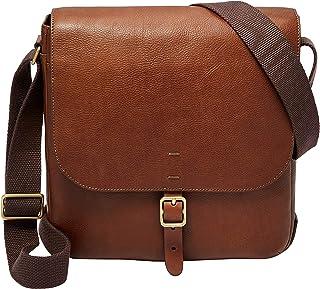 Fossil Men's Buckner Leather Trim City Bag