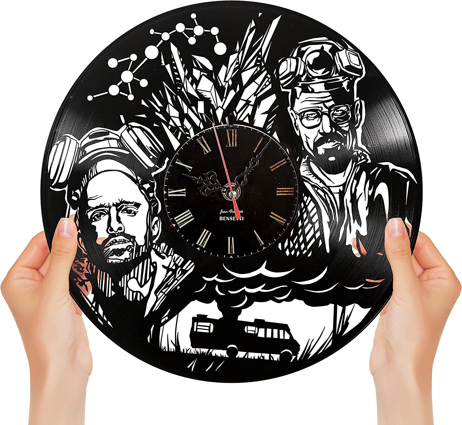 High order Exquisite Breaking Bad Vinyl Max 74% OFF Clock Designed Limi Brooklyn in