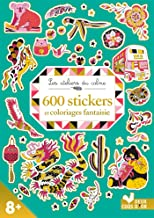 600 stickers et coloriages fantaisie
