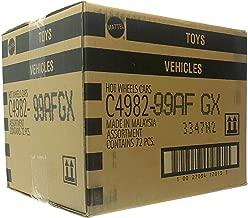 Mattel Hot Wheels 72 Count Random Case Basic Die-Cast Toy Cars