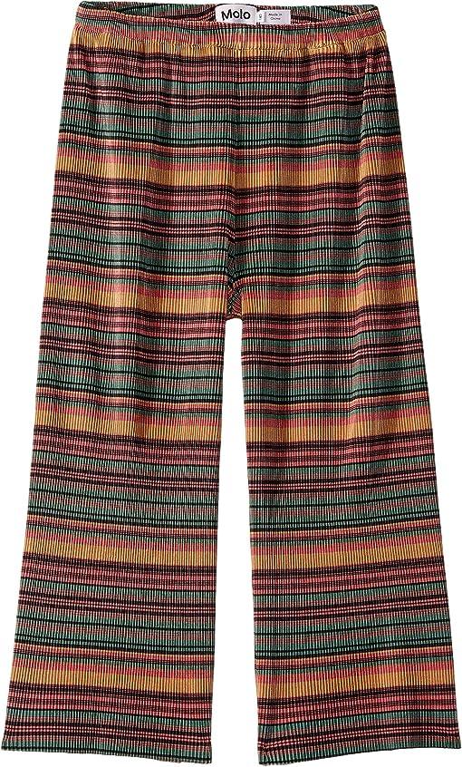 Multi Stripe Pleats