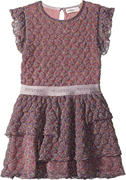 Pizzo Lame Dress (Toddler/Little Kids)