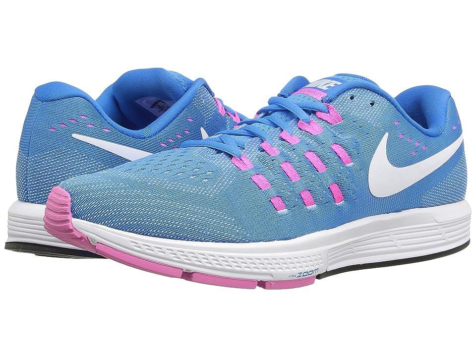 Nike Air Zoom Vomero 11 (Blue Glow/White/Pink Blast/Photo Blue) Women