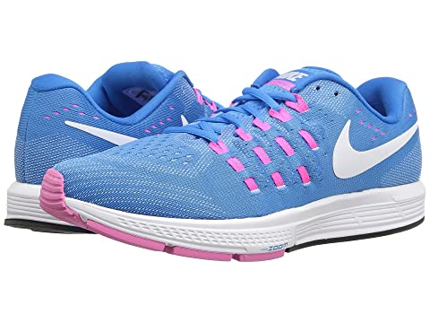 Nike Air Zoom Vomero 11 Womens Blue Glow/White/Pink Blast/Photo Blue S795159OC Shoes