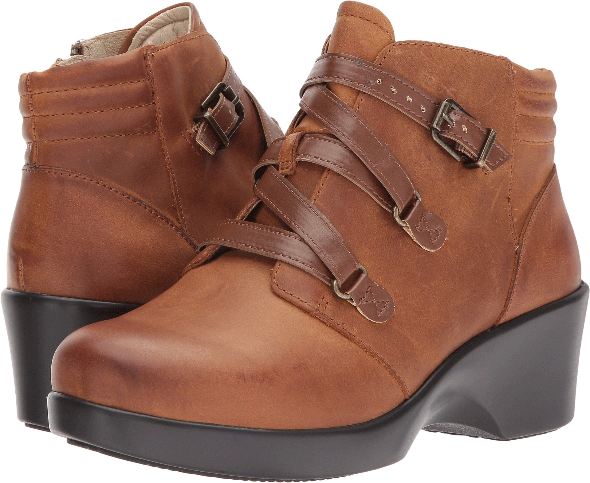Alegria Womens Ankle Walnut 6 6 5