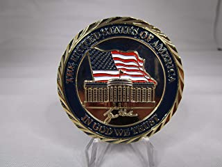 President George W Bush 43rd President of The United States Commander in Chief Challenge Coin
