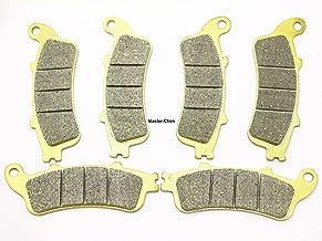 Master Chen Front Rear Brake Pads Brakes for Honda GL 1800 / A ABS Goldwing VFR 800 A Fi ST 1300 CBR 1100 VTX 1800 FA261FR