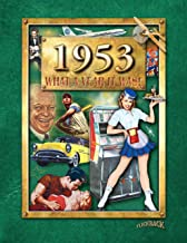 1953 What A Year It Was Book: Great Birthday or Anniversary Present