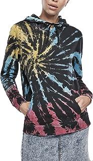 Urban Classics Kapuzenpullover Ladies Tie Dye Hoody Felpa con Cappuccio Donna