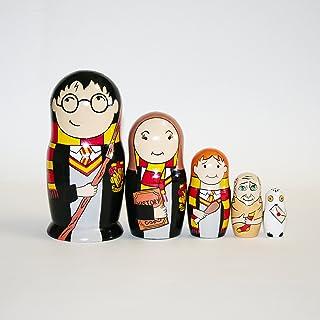 18cm Art-Ross Nesting Dolls Day of The Death Gift Home Decor Completely Handmade 7