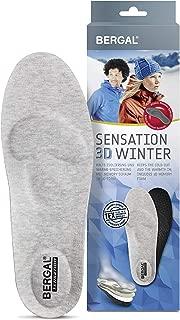 2 Paar Bergal SENSATION3D weiche orthopädische Einlage mit Memory-Funktion Sohle