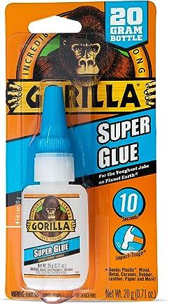 Gorilla Super Glue, 20 Gram, Clear