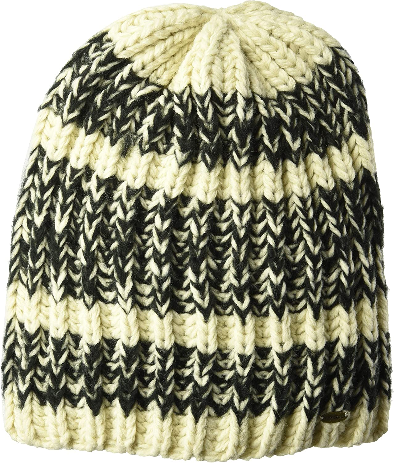 O'NEILL Women's Smores Multi Colored Knit Beanie, Tan, One Size