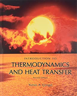 introduction to thermodynamics and heat transfer cengel