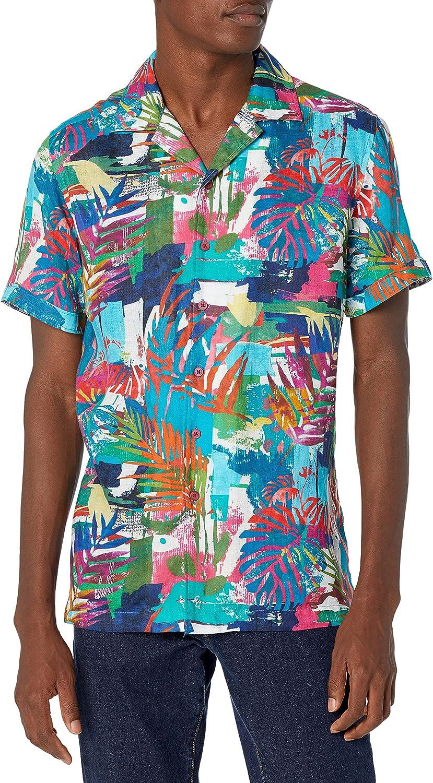 Robert Graham Men's Himalayas Short Sleeve Classic Fit Shirt