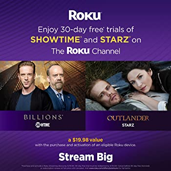 Roku Streaming Stick+ | HD/4K/HDR Streaming Device with Long-range Wireless and Voice Remote with TV Controls (update...